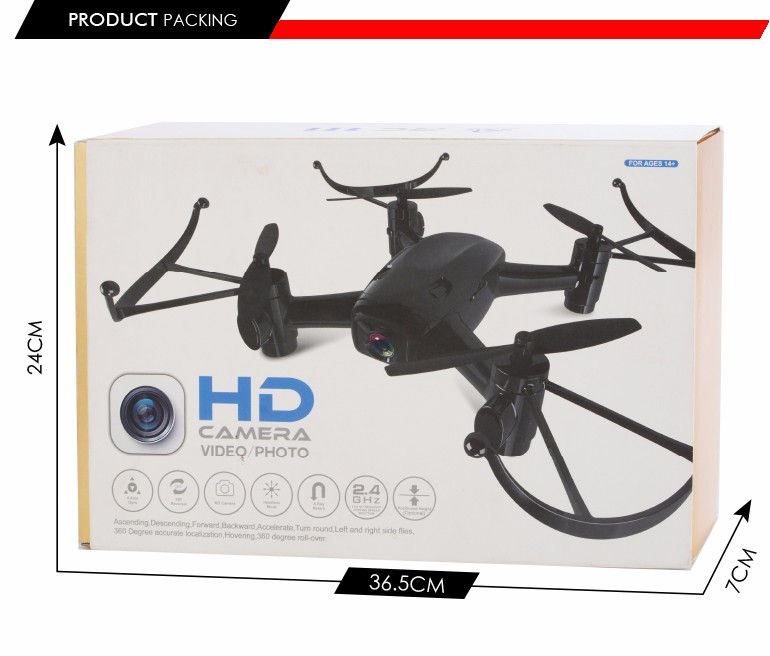 hot selling hovering accelerate 4-axis aircraft camera drone professional with wifi