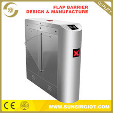 Plant tempered glass solution provider flap turnstile barrier gate