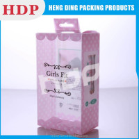 logo design factory offer printed plastic packing box