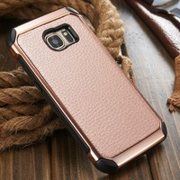 for Samsung S7 Case, for Samsung Galaxy S7 S7 edge Cover, Custom Cheap Leather Case for S7edge