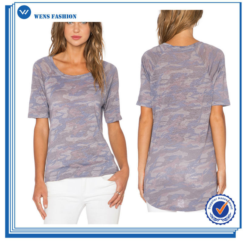 Multifunction Casual Tight Fit Short Sleeve T-Shirt For Women
