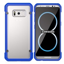 Clear blank sublimation phone cover case for Samsung Galaxy S8