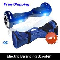 Warehouse in the USA 6.5 inch Free Shipping 2 wheel self balancing hover board 2 wheel