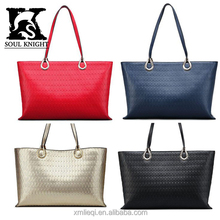 SK-T050 Best selling branded style fashion ladies handbag tote bag wholesale