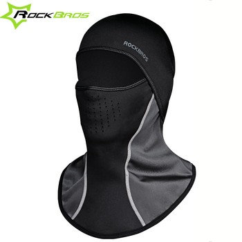 ROCKBROS Bicycle Mask Winter Thermal Mask Anti Dust Motorcycle Cycling Neck Protector Mask