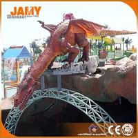 Hot sale amusement park animatronic dragon model