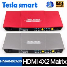 Manufacturer Product Seamless for Projector 4x2 HDMI Matrix Switcher