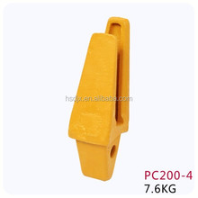 Excavator buckets teeth and adapter / engineering machinery adapter pc200