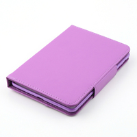 Flip Leather Case For Apple iPad Mini Stand PU Leather Case Cover With Removable Bluetooth Keyboard