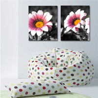 daisy frameless painting flower wall art oil painting canvas
