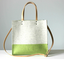 New arrival fashion cheap wool handbag handmade popular felt beach bag made in China