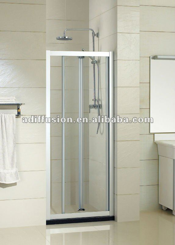 lowes small folding glass shower doors