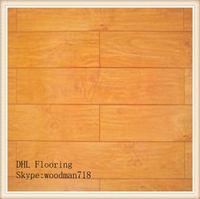 Colorful Solid American Black Walnut Engineered wood Flooring