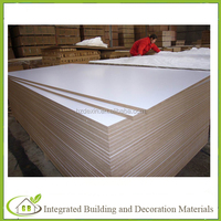 waterproof high gloss white melamine laminated mdf boards