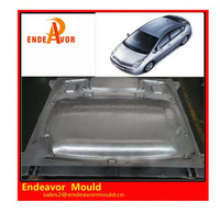 Factory directly sales quality assurance design and processing plastic injection car roof mould