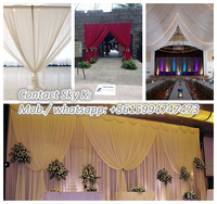 pipe and drape backdrop system event decoration balloons