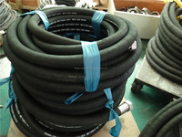 Steel Wire Braided high pressure hydraulic rubber hose R4