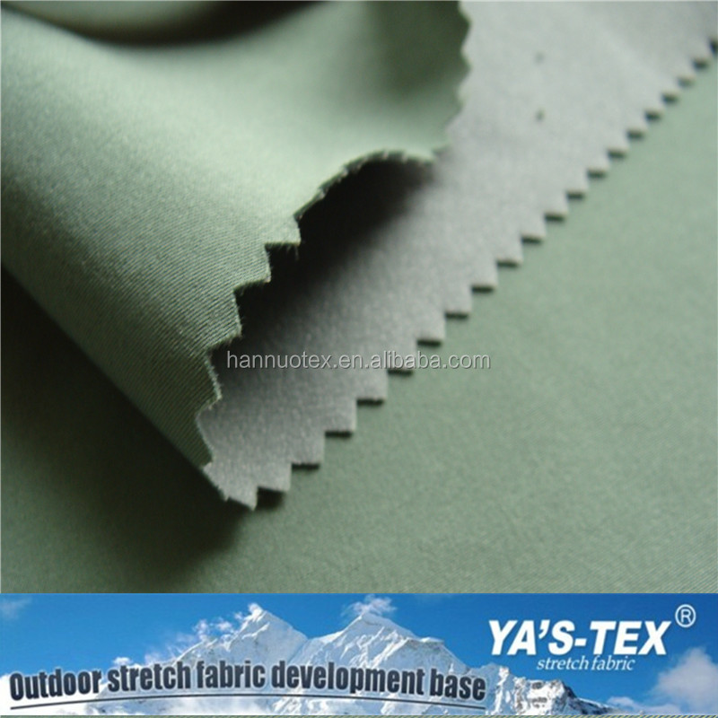 China Supplier Waterproof PU Coated Fabric Bamboo Polyester Blend Fabric