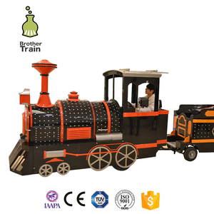 amusement park rides electric train outdoor lighted christmas trains