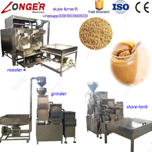 2017 New Type Sesame Seeds Pasta Grinding Production Line Tahini Making Machine