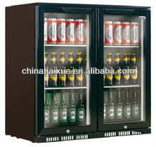 Back bar beer bottle/can cooler beer cooler built-in model with hinged door or sliding door Refrigeration Equipment