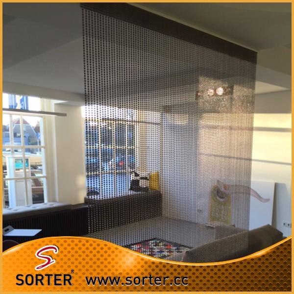 Furniture Living Room Metal Bead Curtain Room Divider Buy Metal