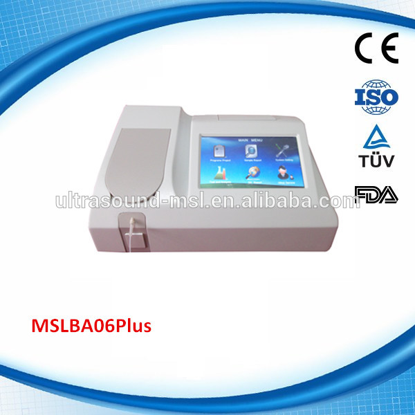 promotion! Best price strong durability chemistry analyzer / biochemistry machine(MSLBA06Plus)