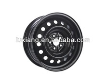 16x6.5 5x100 steel car wheel rim/snow car wheel