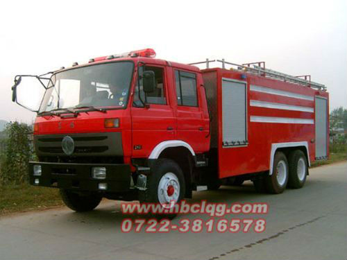 6*4 fire fighting water truck,heavt duty fire engine