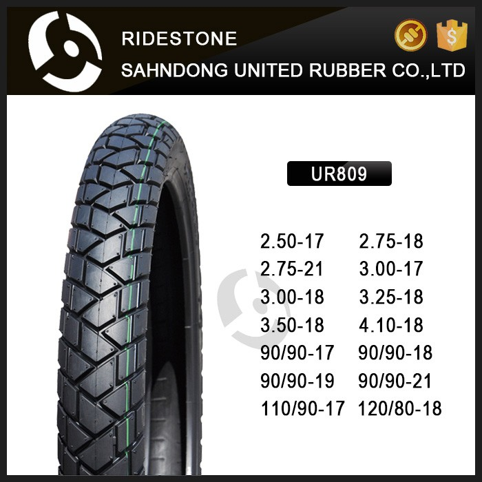 China High Quality MOTORCYCLE TIRE 90/90-17 90/90-19 110/90-17