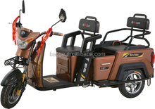 India electric rickshaws/electric tricycles 3 wheels standing