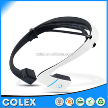 The new multi-function bone conduction Bluetooth headset, rear hanging outdoor sports bone conduction headset