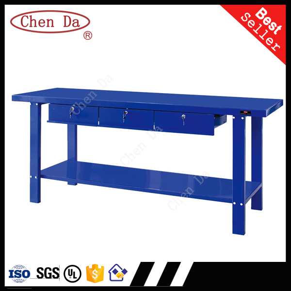 professional high quality cold rolled steel workbenches with drawers