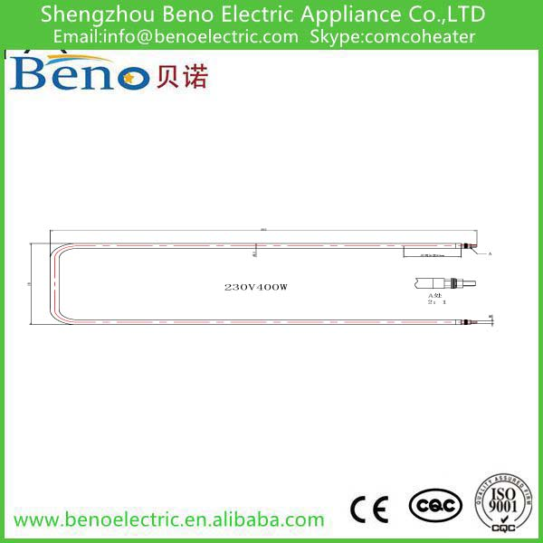 Stainless Steel Straight U Type Heating Element
