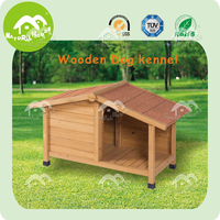 Popular asphalt roof fir wood PET CAGE DOG CAGE