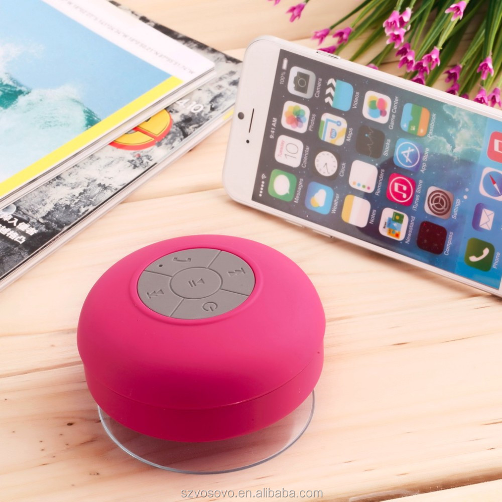 rubber mushroom music mini wireles s portable wireless shower bluetooth speaker