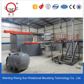 Rotomolding machine for OEM rotational moulding outdoor plastic chair