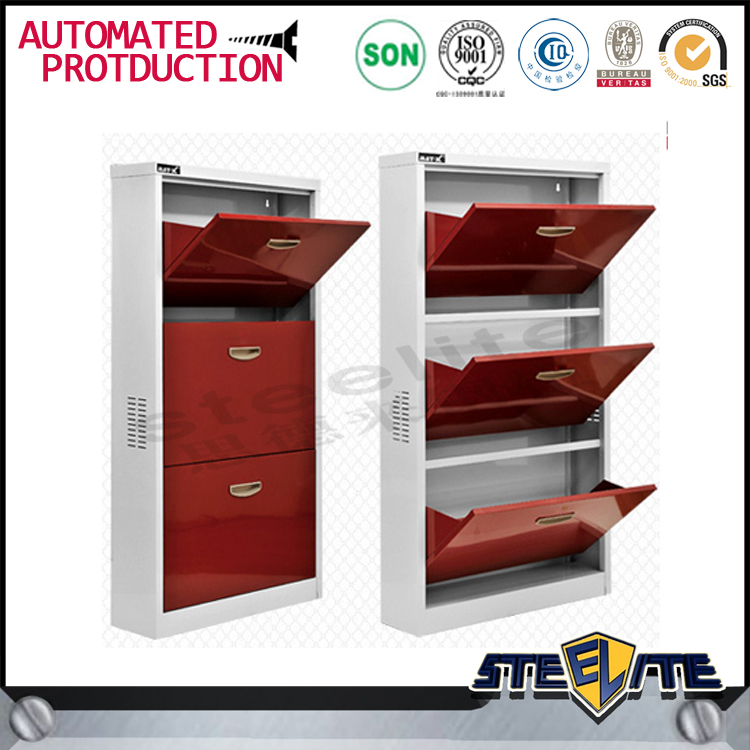 Modern bedroom furniture wrought iron metal shoe rack on sale