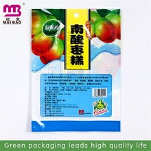 Personal design laminated material strong heat sealing dried fruit and nut snack packaging pouch