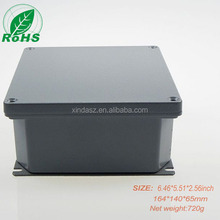 164*140*65mm die cast aluminum Waterproof Cover Clear Electronic Project Box Enclosure Case