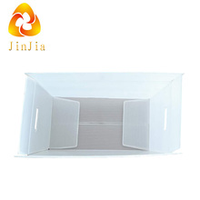 polypropylene pp material corrugated sheet foldable plastic boxes