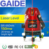 GAIDE-BR 660nm 150mw wall construction laser levels tool