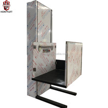 Hydraulic vertical Stainless steel wheelchair lifts for olders