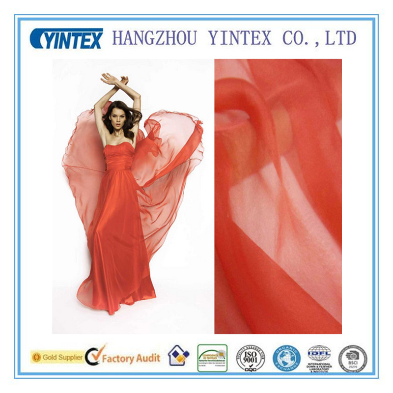 100% Polyester Digital Printing Fabric for Dress