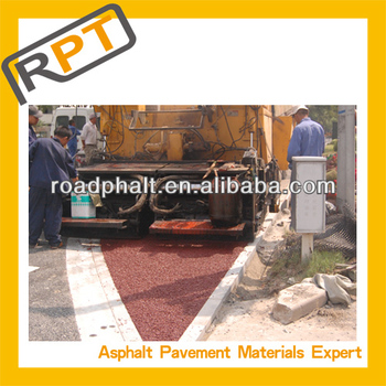 colored Asphalt for road construction
