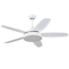 Hot sell new coming 52-F5121-WH decorative lighting ceiling fans