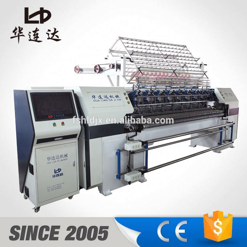 bedsheet sewing double head quilting machine