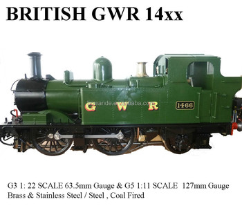 14xx ,1:22.6 Live Steam Locomotive (Brass made)