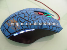 2013 hot selling optical and unique game mouse as computer accessories