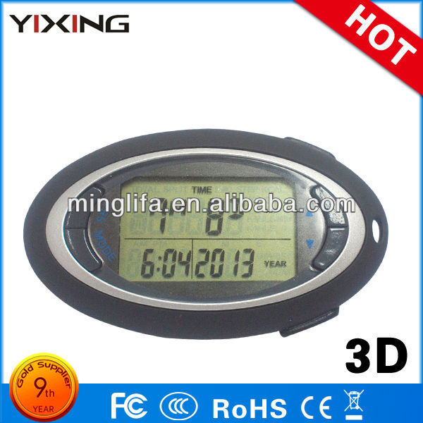 Run Calories Meter Step Counter Multifunction G Sensor Pedometer